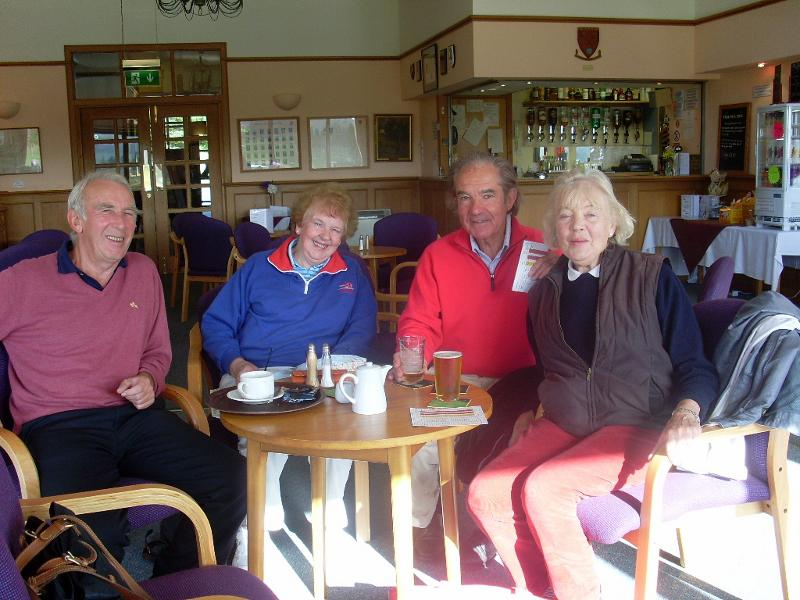 French Rotary Club visit to Penicuik - West Linton Golf Club 3