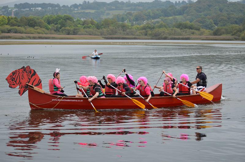 TIGER BOAT RACING RAISES OVER £5000 FOR CHARITY - SOROPTIMISTS IN ACTION