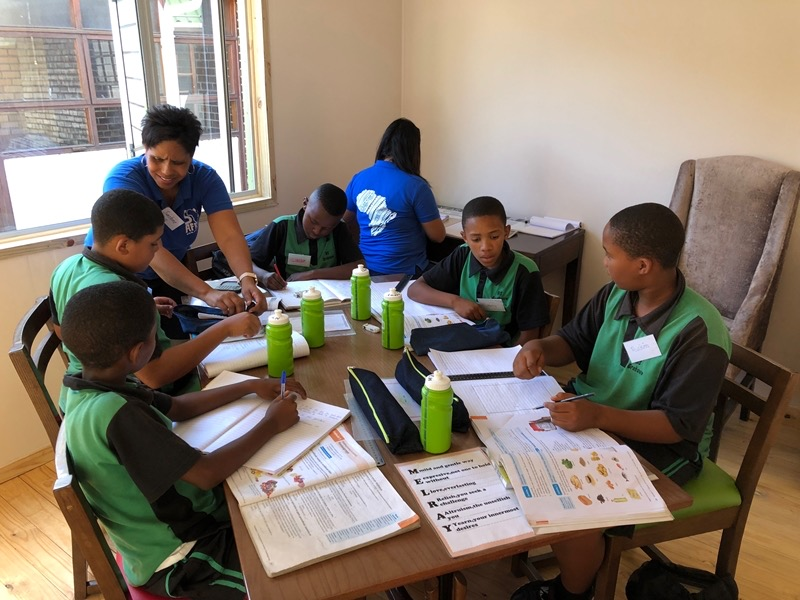 SOS Africa: Melray - SOS Africa Children Working Hard in   the New Centre 5