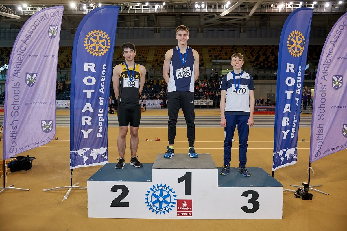 Rotary International Scottish Schools Indoor Athletic Championships 2019 - SSAAEmirates2019 519