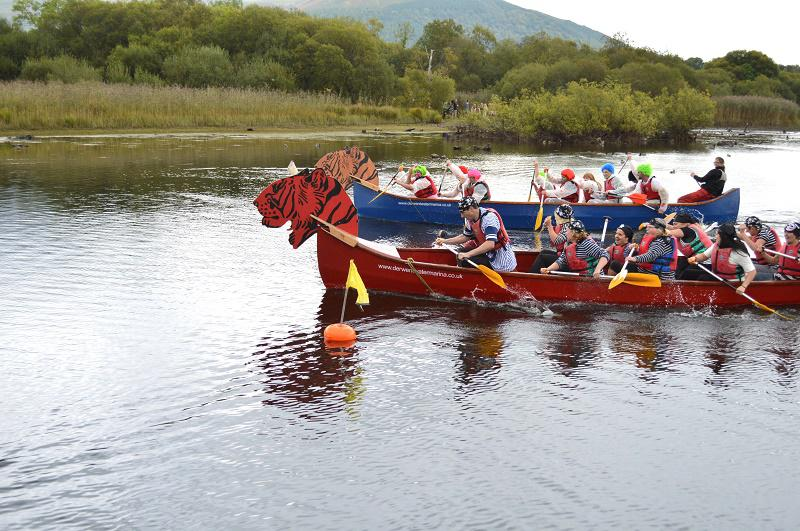 TIGER BOAT RACING RAISES OVER £5000 FOR CHARITY - ST JOSEPHS IN ACTION