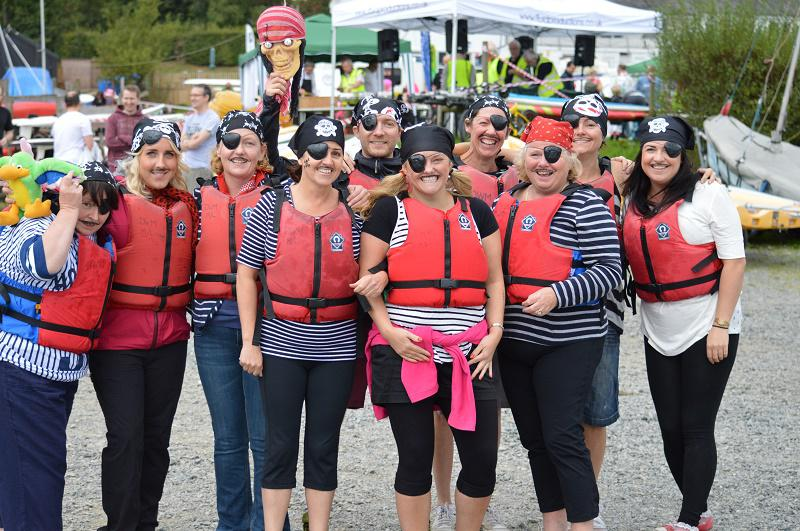 TIGER BOAT RACING RAISES OVER £5000 FOR CHARITY - ST JOSEPHS