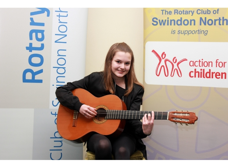 Swindon Young Musician of the Year 2017 - Ella Reindl, Highworth Warneford School. 2nd Junior Section Instrumental