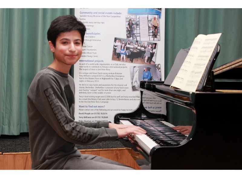 Swindon Young Musician of the Year 2017 - Kamyab Ghyabi, Isambard Community School, 1st Junior Section Instrumental