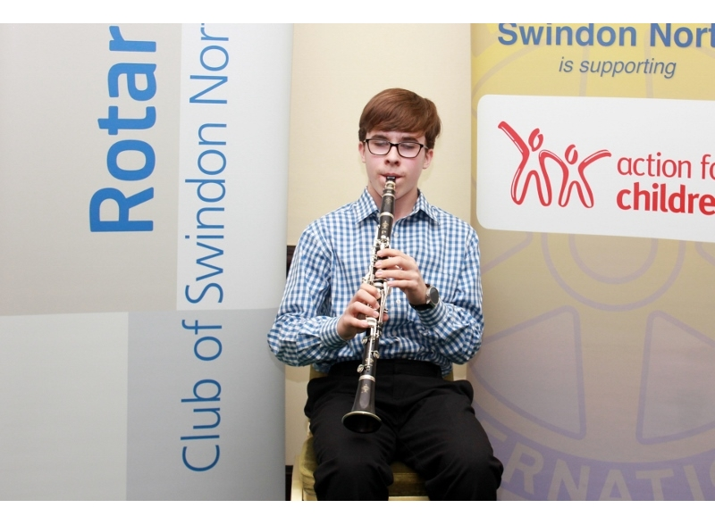 Swindon Young Musician of the Year 2017 - Adam Hubbard, Royal Wootton Bassett Academy