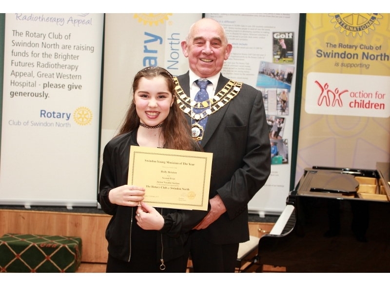Swindon Young Musician of the Year 2017 - Holly Bristow, Nova Hreod Academy, 2nd Junior Section Voice
