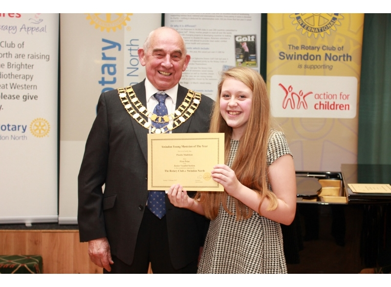 Swindon Young Musician of the Year 2017 - Phoebe Maddison, Isambard Community School, 1st Junior Section Voice