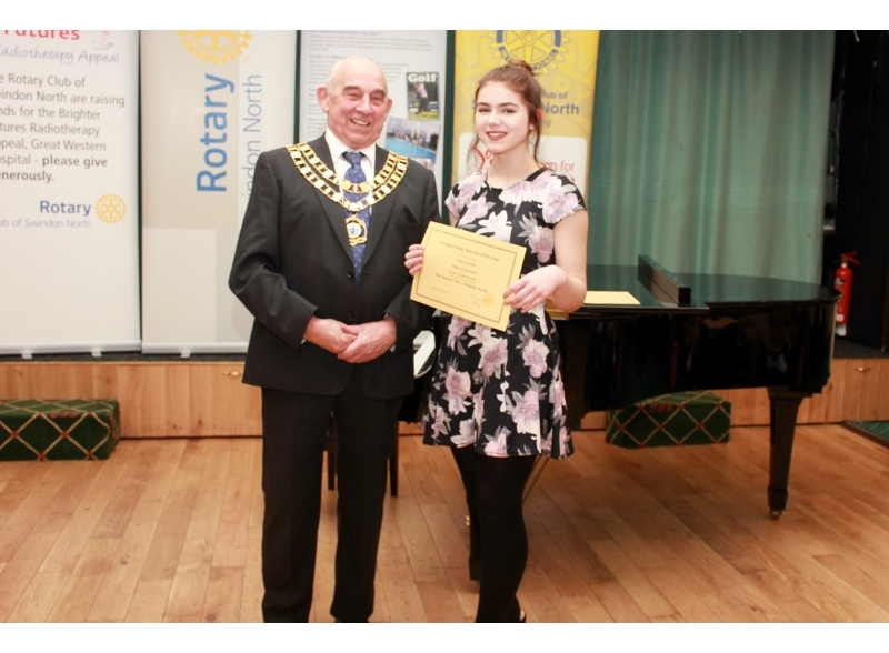 Swindon Young Musician of the Year 2017 - Caitlin Eastham, Highworth Warneford School, Highly Commended Senior Section Voice