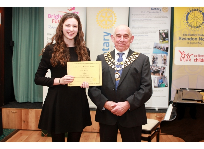 Swindon Young Musician of the Year 2017 - Caitlin MacClay, Bradon Forest School, 1st Senior Section Voice