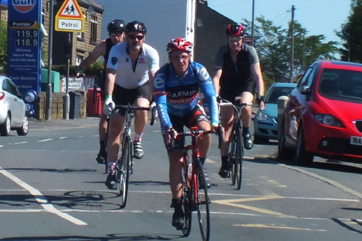 Turnpike Challenge -  2018 - Saddleworth Turnpike on the road 1