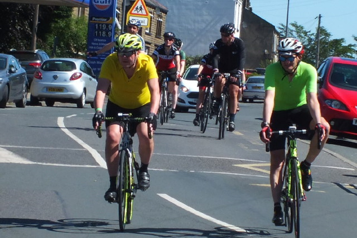 Turnpike Challenge -  2018 - Saddleworth Turnpike on the road 2