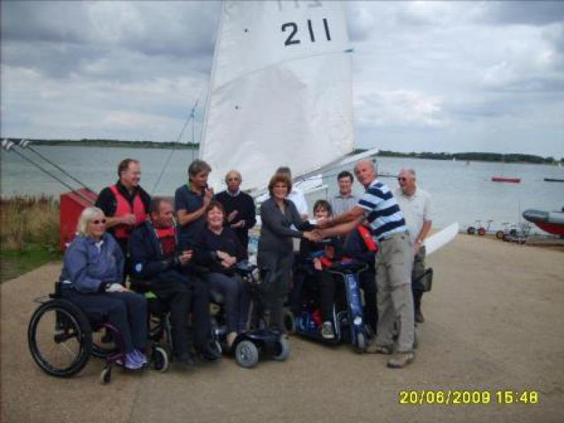 Grafham Water Sailability - Sail3 2