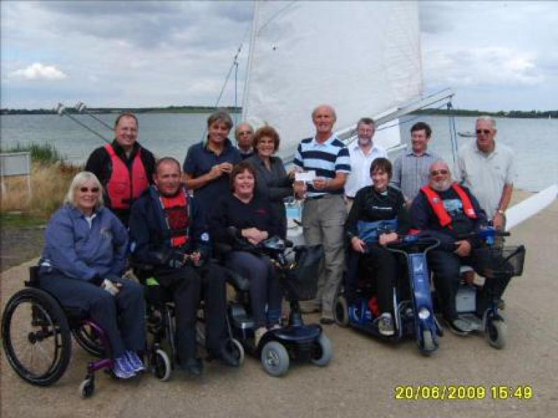 Grafham Water Sailability - Sail4 2