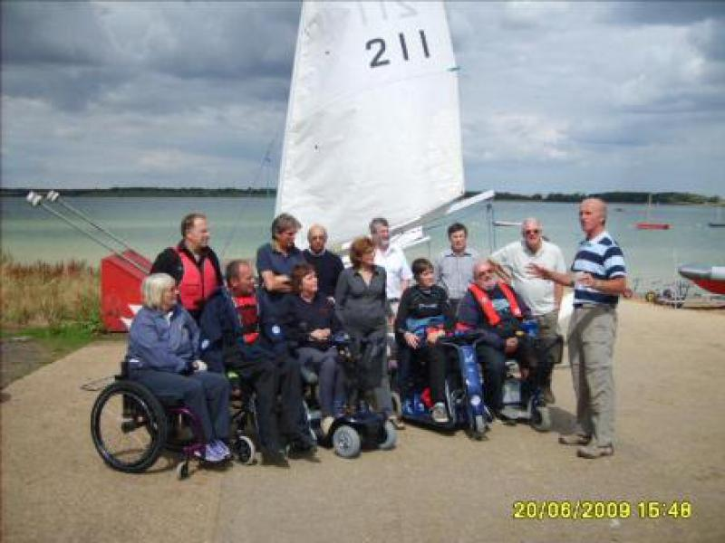 Grafham Water Sailability - Sail6 2