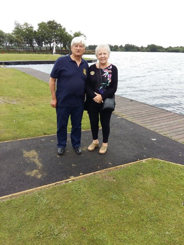 Club News 2017 - 2018 President Sheila Webb - Sailability June 2018 Sheila & Simon