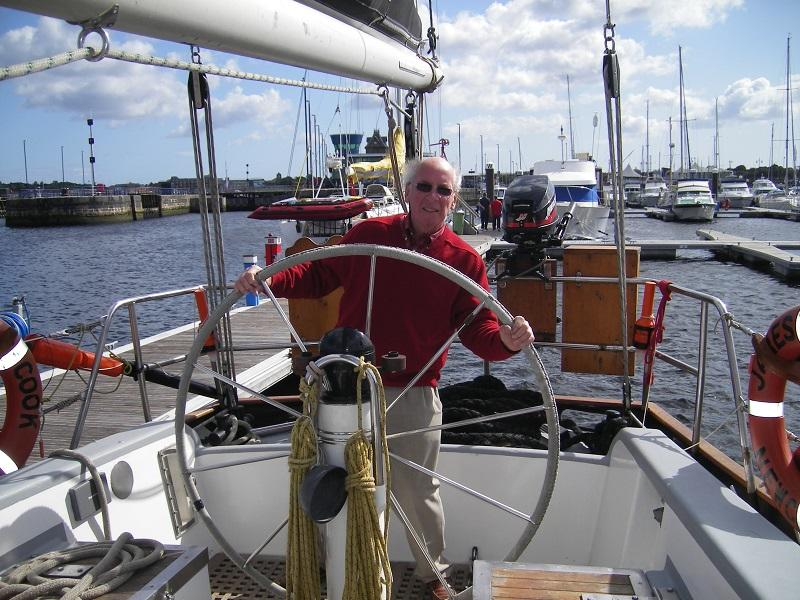 Rotary Ocean Youth Trust - President Russell Williams - Thinks he's an old sea dog