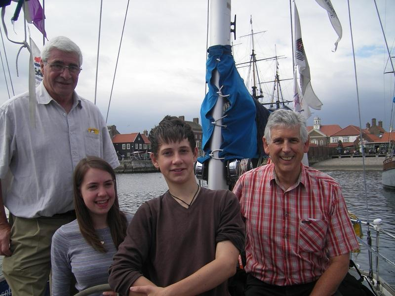 Rotary Ocean Youth Trust - This year the candidates were in Hartlepool at the same time as the Tall Ships.