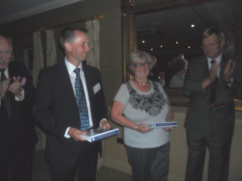 Induction of New Members - Two new members - David and Gill