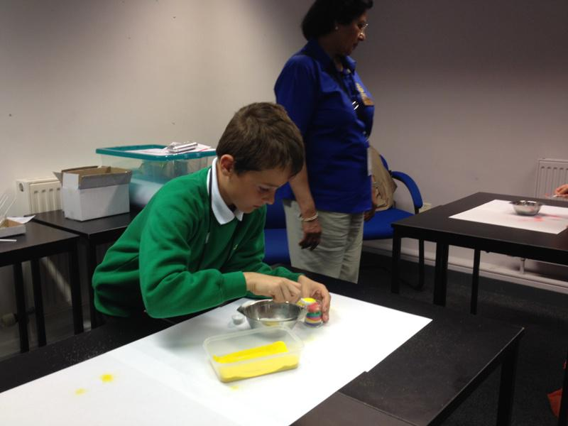 District Rotakids Conference 2014, Lancaster - Sand Dams Session