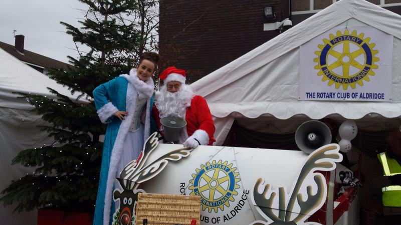Aldridge Advent Adventure - Santa and the Christmas Fairy