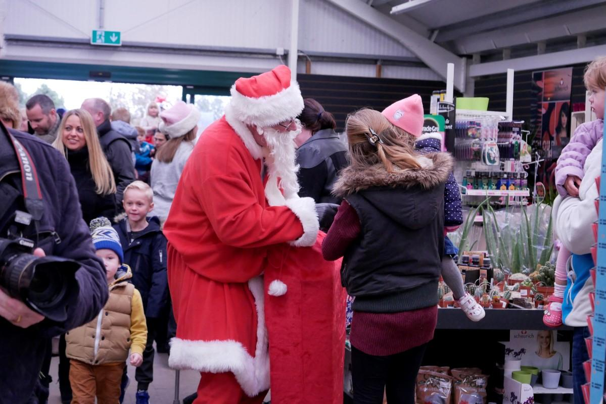 Santa arrived 10am Saturday 18 November -