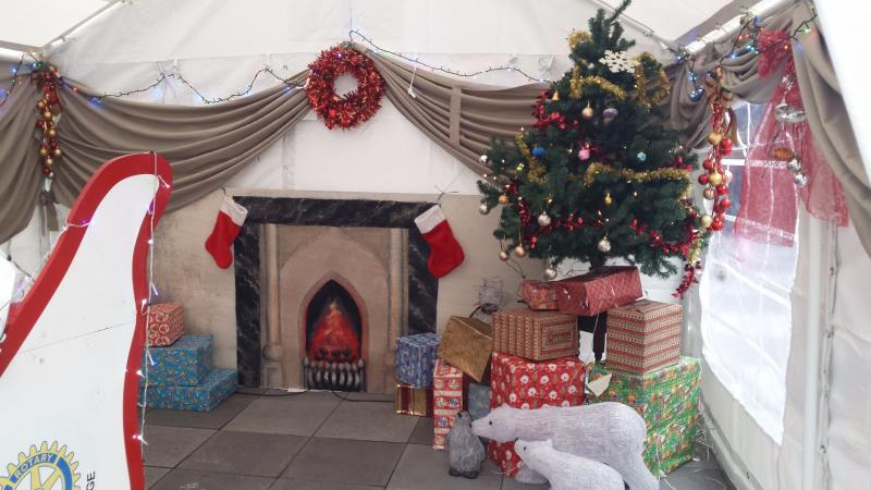 Aldridge Advent Adventure - Santas Grotto