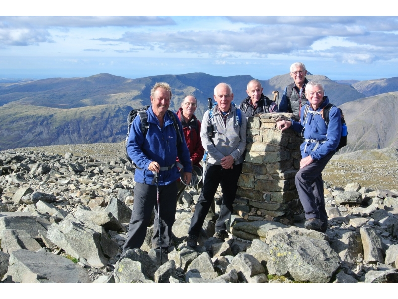 Walking group - Scafell Pike