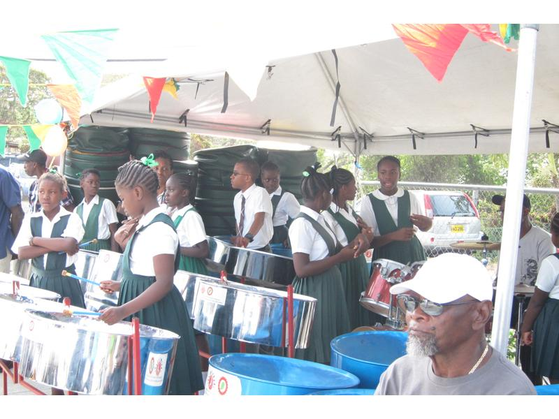Hill Top Home, Carriacou - School Steel Band