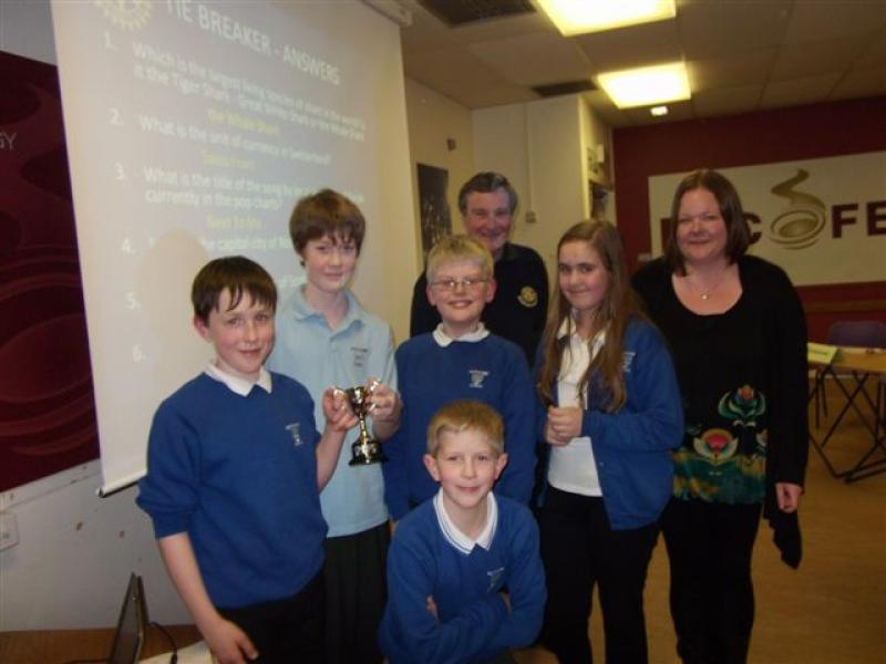 Club Activities, 2011-2012 - Scotstown Primary 2012 local heat winners