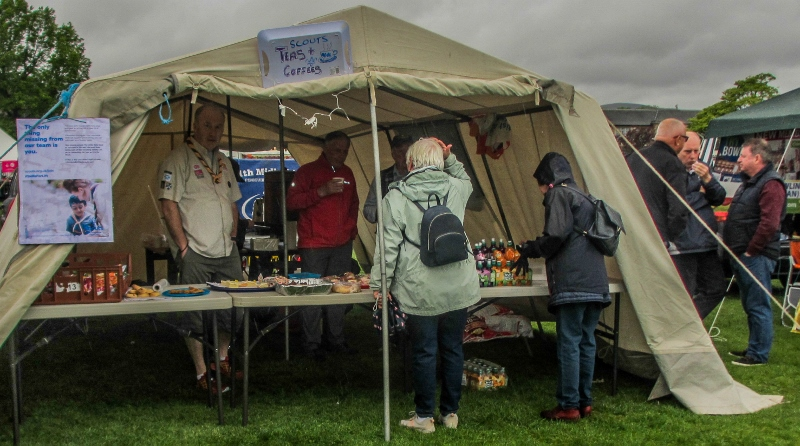 Penicuik in the Park on 25th May 2019 - Scouts