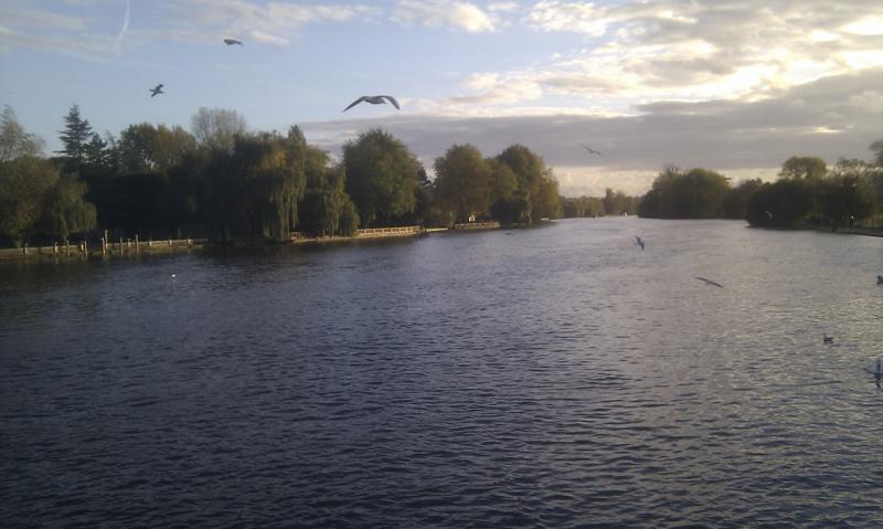 River Thames at Marlow -