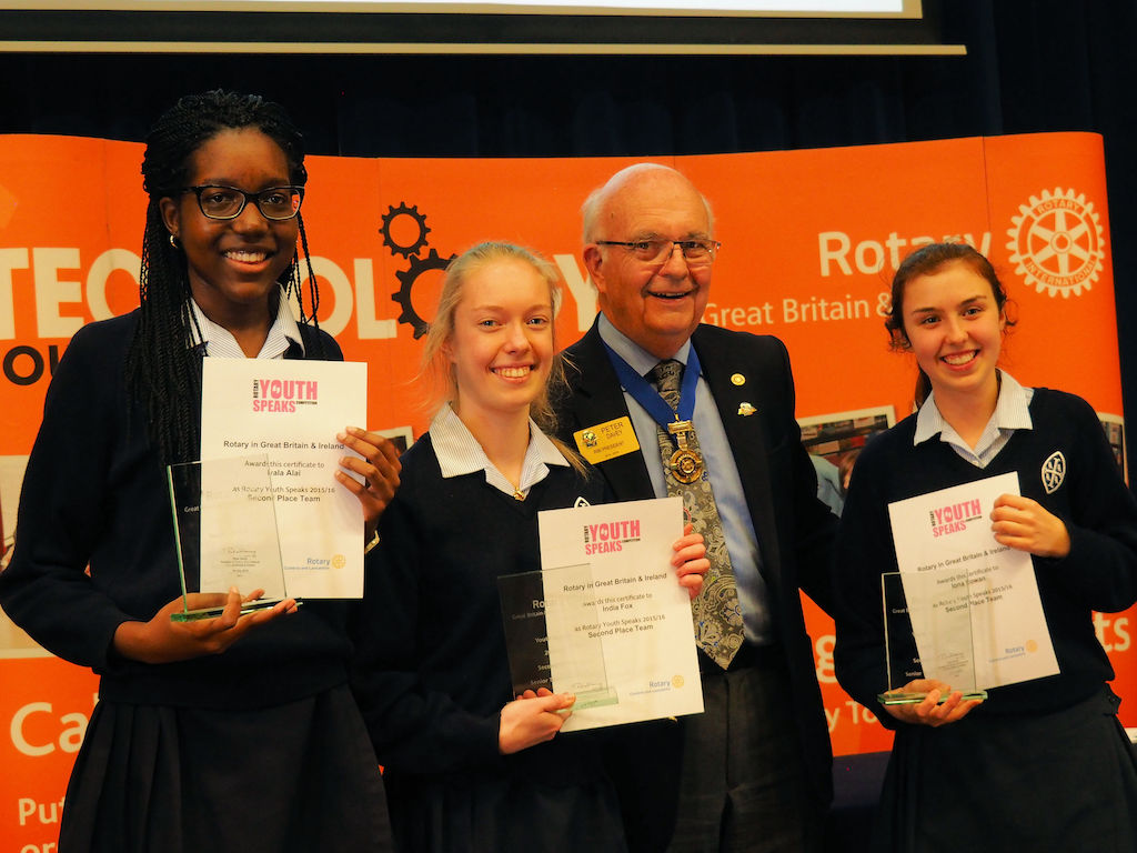 RIBI Youth Speaks National Final 2016 - Sen 2nd Wycombe Abbey