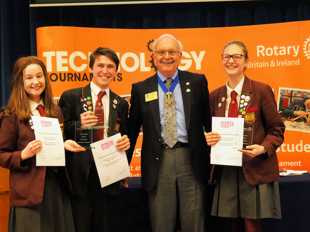RIBI Youth Speaks National Final 2016 - Sen 3rd Romsey