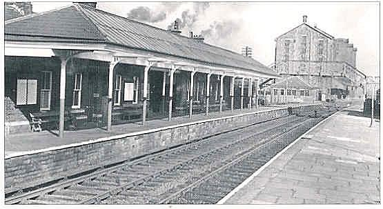 Local Area Information - Former Shaw and Crompton station buildings.