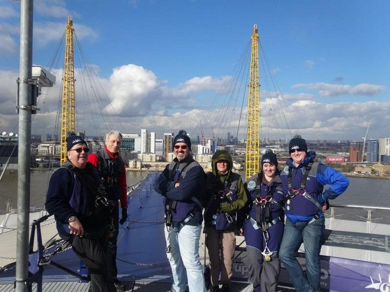 Feb 2016 Simon Lake tackles the Millenium Dome - .