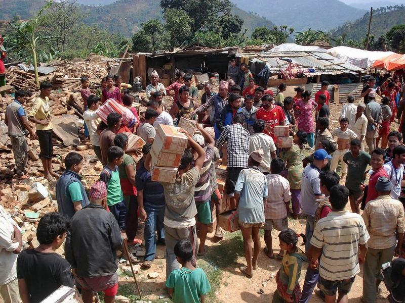 What we did earlier - Nepal Earthquake Relief as we did it. - Sindhupalchowk - May 2015 1 (10)