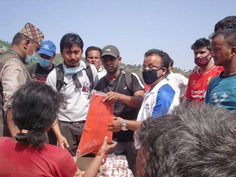 What we did earlier - Nepal Earthquake Relief as we did it. - Sindhupalchowk - May 2015 1 (15)
