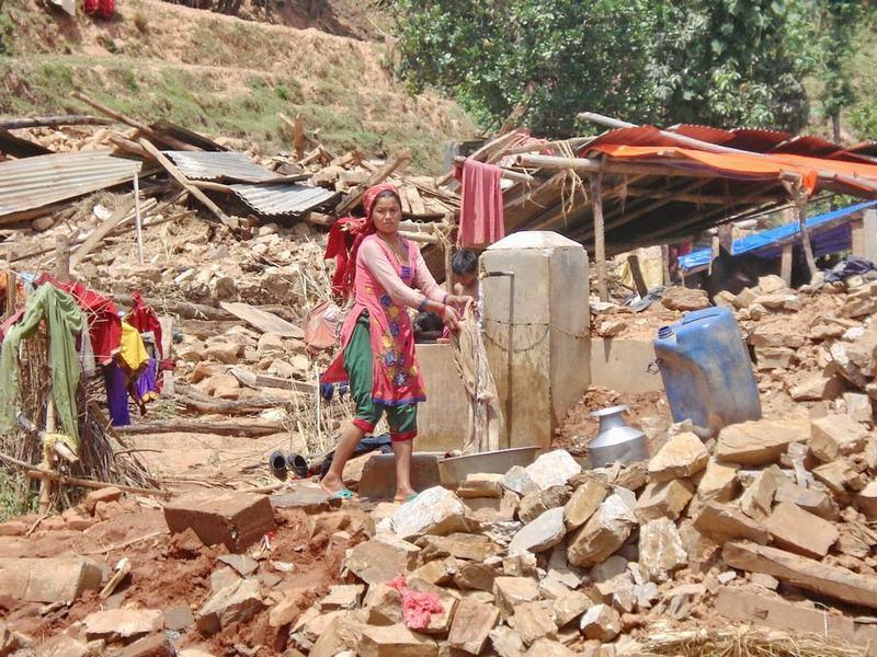 What we did earlier - Nepal Earthquake Relief as we did it. - Sindhupalchowk - May 2015 1 (7)