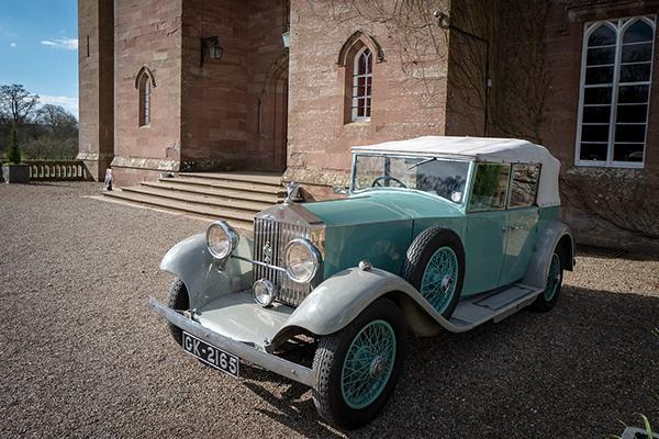 Perthshire Classic Car Festival - Sir Winston Churchill used this Car when he received the freedom of the city of Perth in 1948