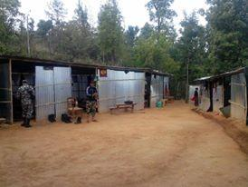 Mirge Nepal Update 3 - Corrugated homes put up by the army