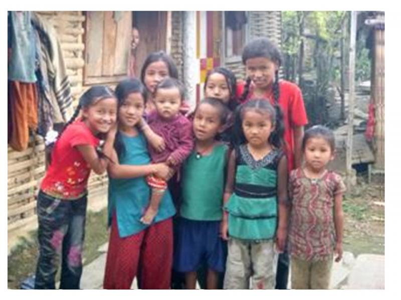 Mirge Nepal Update 2 - School children at a loss at their situation