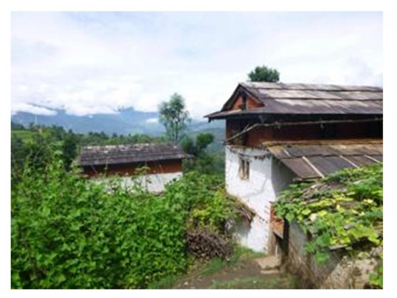 Mirge Nepal Update 1 - The Village before the earthquake