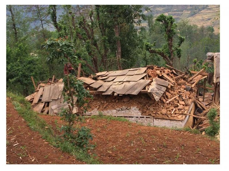 Mirge Nepal Update 1 - After the first earthquake