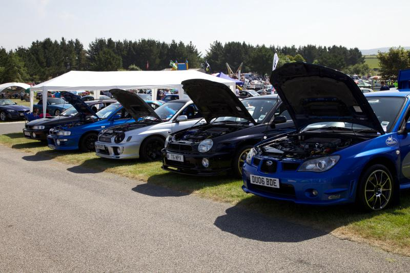 Wheels 2013 - Report and Slide Show - Some Subarus