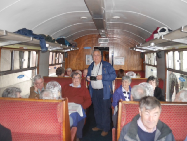 Afternoon tea on the Boness and Kinneil Railway - Sorting them out