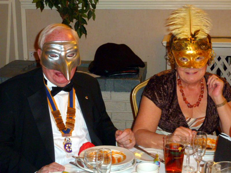 Murder Mystery Night - Venetian Vendetta - Southport Links Rotary Murder Mystery Night 2013 Venetian Vendetta Table 2