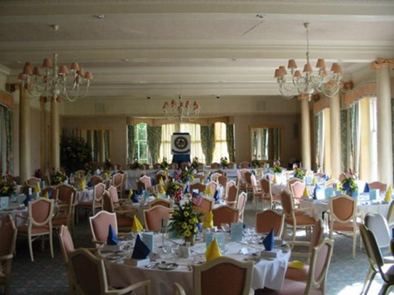 Pictures from the Past - Spa room for 75th Charter Dinner 2002