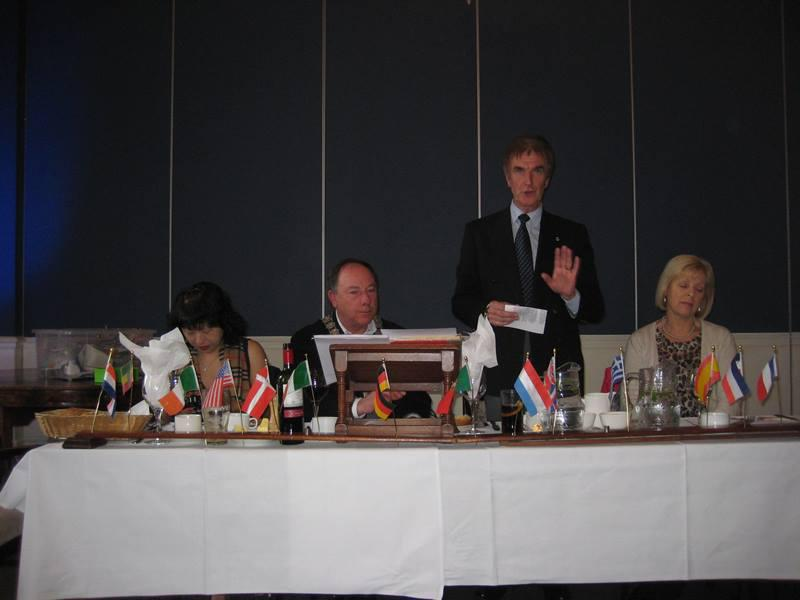 Trip to the Rotary Club of Dun Laoghaire  - Speeches 1