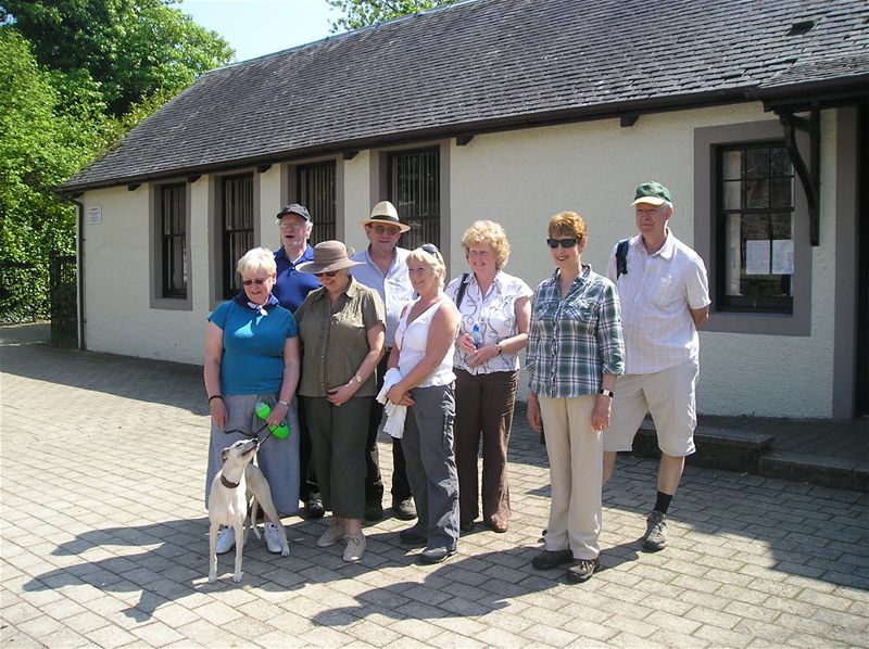 Sponsored Walk  May 2010 - 23/5/10 The Social Walk at Eglinton Country Park