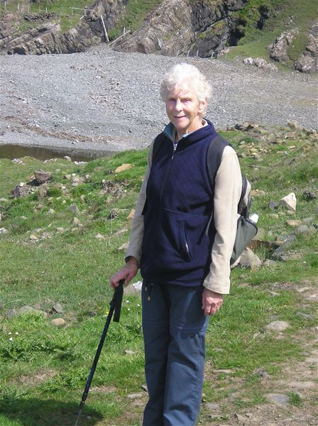 Sponsored Walk  May 2010 - 25/5/10 - Margaret going strong